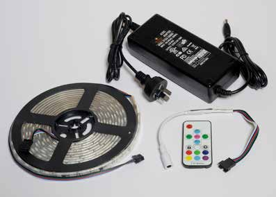 RGB Digital LED Strip Lighting - Krome