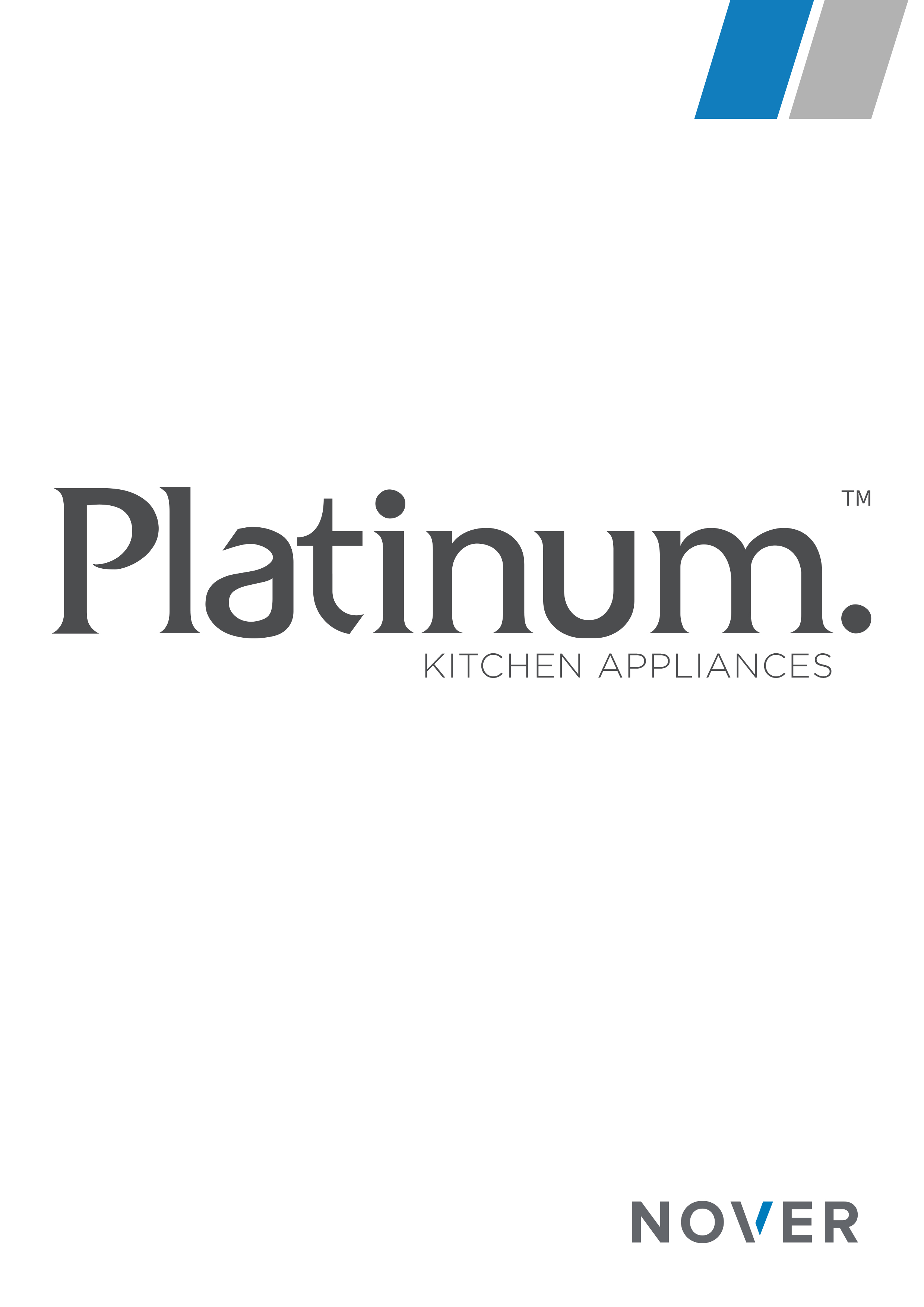 Platinum. Kitchen Appliances