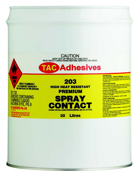 Solvent Based Contact Adhesives - TAC
